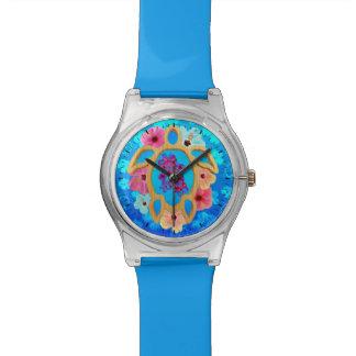ハワイの熱帯Honu 腕時計