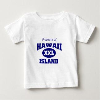 ハワイの特性 ベビーTシャツ