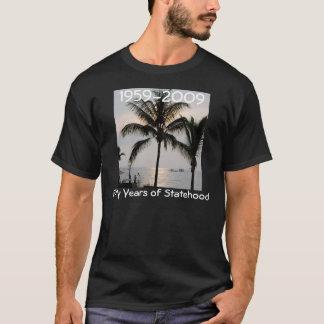 ハワイの独立国家第50記念日 Tシャツ