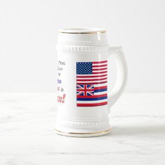 ハワイの生存! 22のozステイン ビールジョッキ
