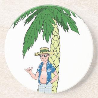 ハワイの祖父 コースター
