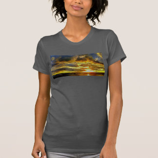 ハワイの空のオリジナルIの女性のT Tシャツ