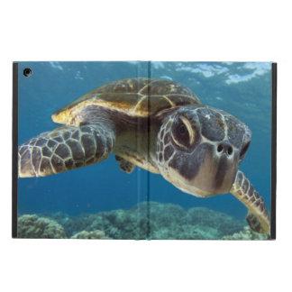 ハワイの緑のウミガメ iPad AIRケース