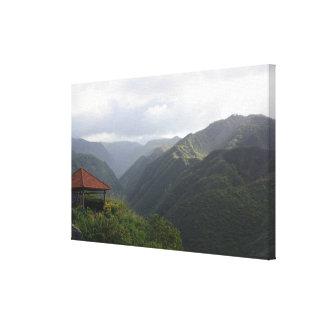 ハワイの自然1つのキャンバス キャンバスプリント