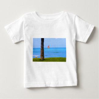 ハワイの自然 ベビーTシャツ