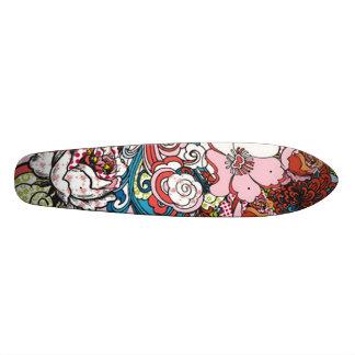 ハワイの花のスケートボード 20CM スケートボードデッキ