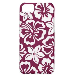 ハワイの花柄 iPhone5Cケース