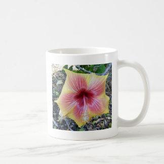 ハワイの花 コーヒーマグカップ