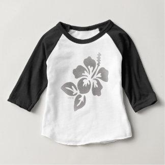 ハワイの花 ベビーTシャツ