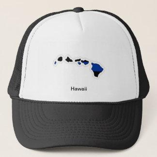 ハワイの薄いブルーライントラック運転手の帽子 キャップ