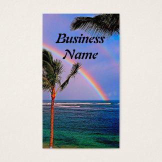 ハワイの虹の名刺 名刺