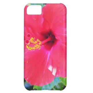ハワイの赤いハイビスカスの花 iPhone5Cケース