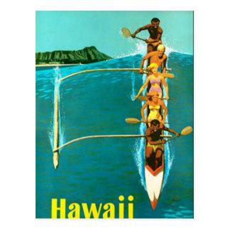 ハワイの郵便はがき ポストカード