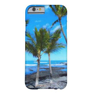 ハワイの青空のやしTress Barely There iPhone 6 ケース