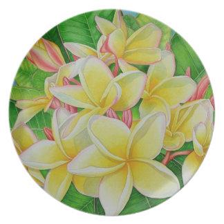ハワイのFrangipani プレート