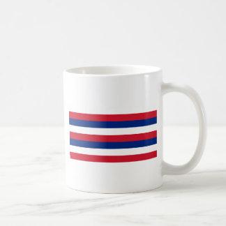 ハワイのKa Hae Hawaiʻiの旗 コーヒーマグカップ