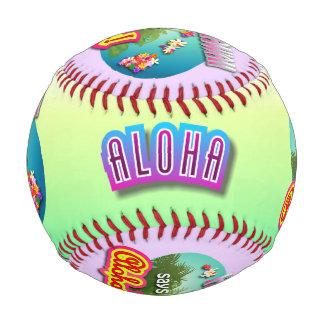 ハワイはアロハ言います! 野球ボール