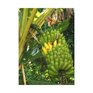 ハワイアンのAppleバナナ キャンバスプリント