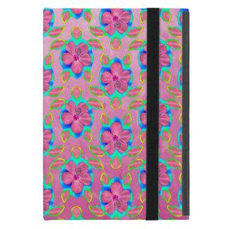 ハワイアンのHonuピンクのパターン iPad Mini ケース
