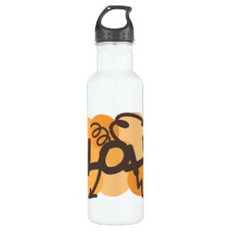 ハワイアン-アロハ落書きのスタイル ウォーターボトル