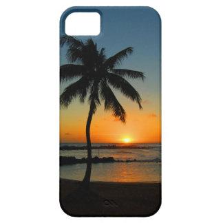 ハワイカウアイ島のiPhone 5 - Poipuのビーチの日没 iPhone SE/5/5s ケース