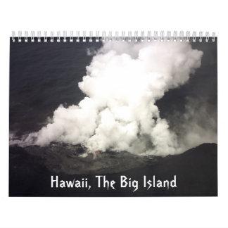 ハワイ大きい島のカレンダー カレンダー