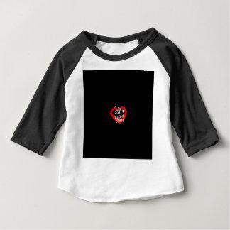 ハワイ州のための蝋燭のハートのデザイン ベビーTシャツ