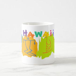 ハワイ旅行記念品のマグ コーヒーマグカップ