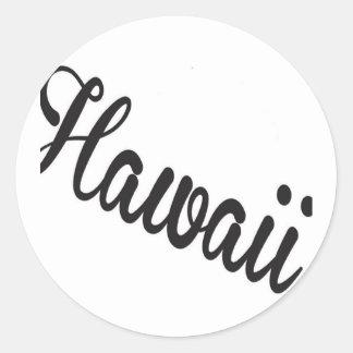 ハワイ米国 ラウンドシール
