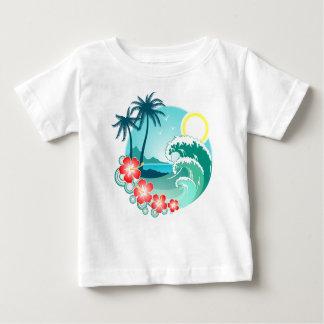 ハワイ諸島2 ベビーTシャツ