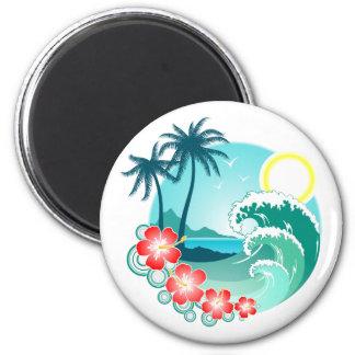 ハワイ諸島2 マグネット
