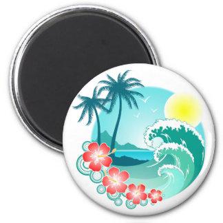 ハワイ諸島3 マグネット