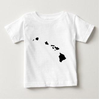 ハワイ諸島 ベビーTシャツ