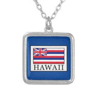 ハワイ シルバープレートネックレス
