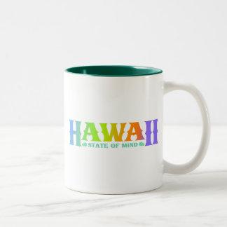 ハワイ ツートーンマグカップ