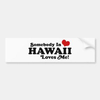 ハワイ バンパーステッカー