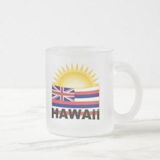 ハワイ フロストグラスマグカップ