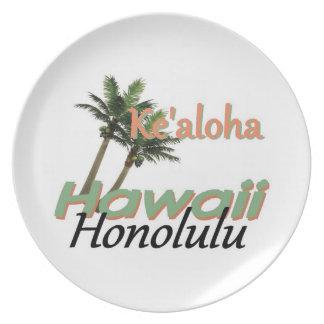 ハワイ プレート