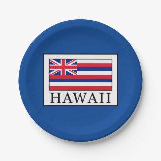 ハワイ ペーパープレート