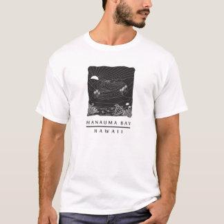 ハワイHanauma湾のカメ Tシャツ