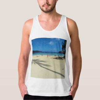 ハワイHanauma湾のビーチ タンクトップ