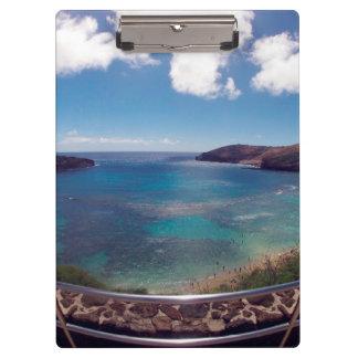 ハワイHanauma湾オアフ クリップボード