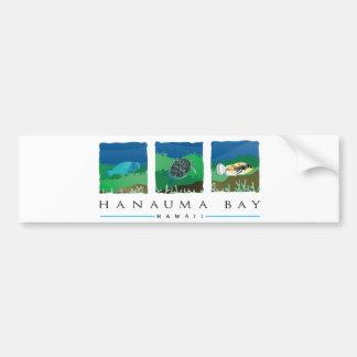 ハワイHanauma湾 バンパーステッカー