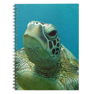 ハワイHonuのカメ ノートブック
