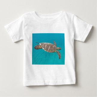 ハワイHonuのカメ ベビーTシャツ
