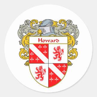 ハワードのアイルランドの紋章付き外衣(包まれる) ラウンドシール