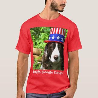 ハンカチの落書きのダンディな人 Tシャツ