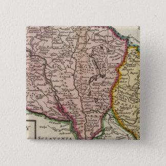 ハンガリーおよびTransilvania 缶バッジ