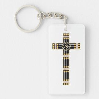 ハンガリーのカトリック教の十字の宗教の神の記号のストール キーホルダー