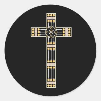 ハンガリーのカトリック教の十字の宗教の神の記号のストール ラウンドシール